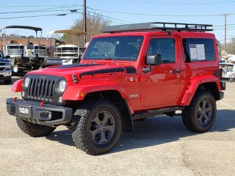 2017 Jeep Wrangler for sale at Tyler Car  & Truck Center in Tyler TX