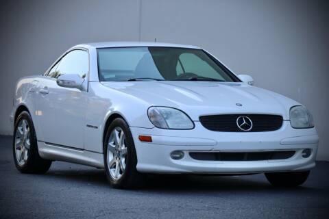 2002 Mercedes-Benz SLK for sale at MS Motors in Portland OR