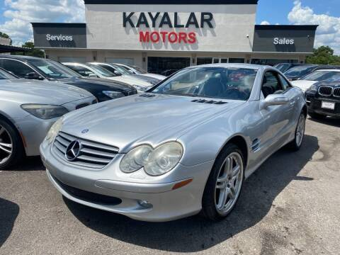 2005 Mercedes-Benz SL-Class for sale at KAYALAR MOTORS in Houston TX