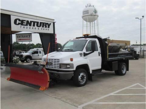 2009 Chevrolet C4500 for sale at CENTURY TRUCKS & VANS in Grand Prairie TX