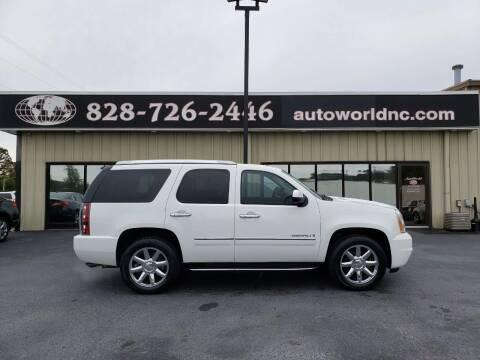 2009 GMC Yukon for sale at AutoWorld of Lenoir in Lenoir NC