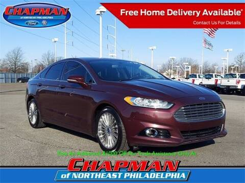 2013 Ford Fusion for sale at CHAPMAN FORD NORTHEAST PHILADELPHIA in Philadelphia PA
