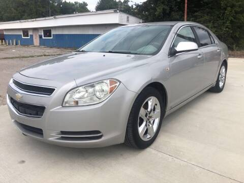 2008 Chevrolet Malibu for sale at Wolff Auto Sales in Clarksville TN