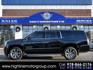 2016 GMC Yukon XL for sale at Highline Group Motorsports in Lowell MA