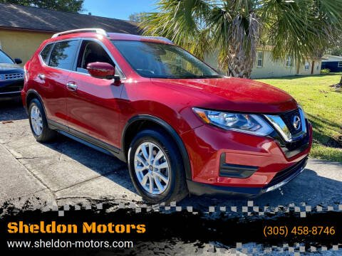 2017 Nissan Rogue for sale at Sheldon Motors in Tampa FL