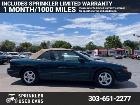 1995 Oldsmobile Cutlass Supreme for sale at Sprinkler Used Cars in Longmont CO