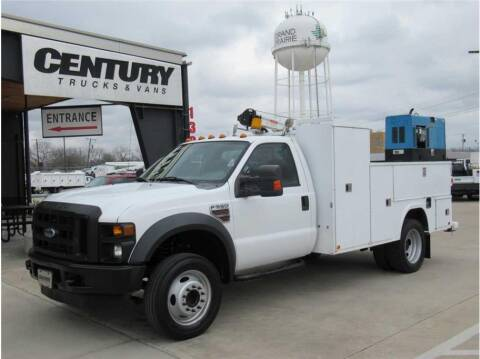 2010 Ford F-550 Super Duty for sale at CENTURY TRUCKS & VANS in Grand Prairie TX