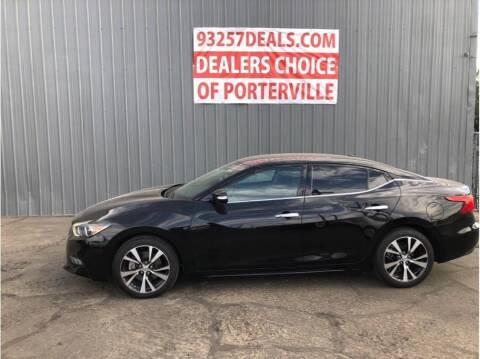 2018 Nissan Maxima for sale at Dealers Choice Inc in Farmersville CA