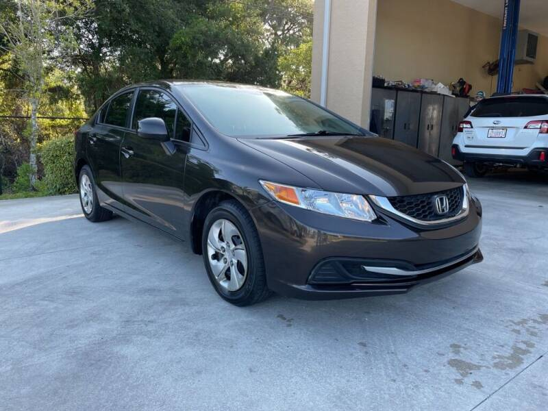 2013 Honda Civic for sale at Jeff's Auto Sales & Service in Port Charlotte FL