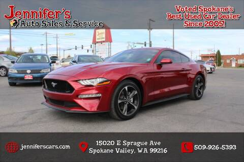 2018 Ford Mustang for sale at Jennifer's Auto Sales in Spokane Valley WA