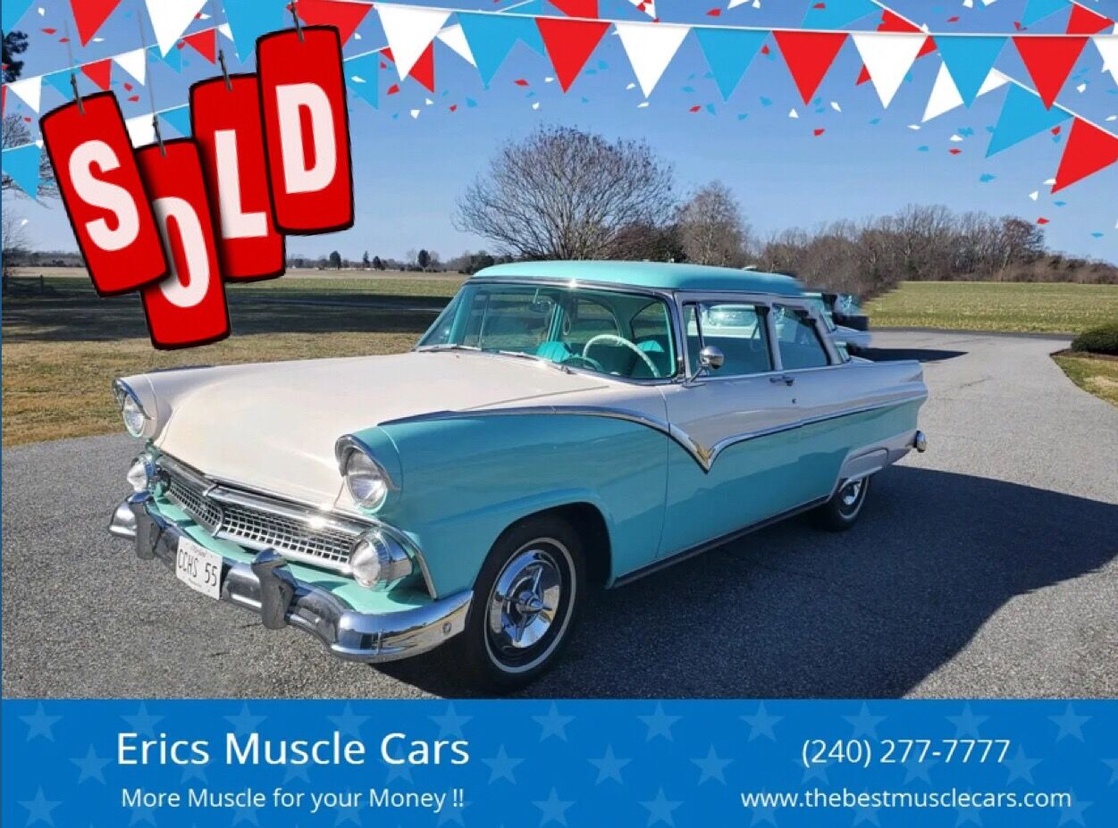 1955 Ford Fairlane SOLD SOLD SOLD