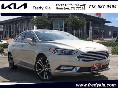 2018 Ford Fusion for sale at FREDY KIA USED CARS in Houston TX