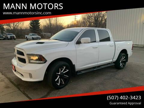 2015 RAM Ram Pickup 1500 for sale at MANN MOTORS in Albert Lea MN