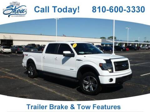 2014 Ford F-150 for sale at Erick's Used Car Factory in Flint MI