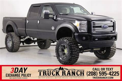 2016 Ford F-350 Super Duty for sale at Truck Ranch in Twin Falls ID