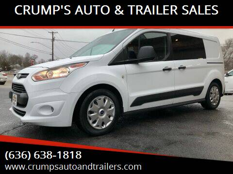 2016 Ford Transit Connect Cargo for sale at CRUMP'S AUTO & TRAILER SALES in Crystal City MO