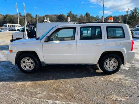 2010 Jeep Patriot for sale at Upstate Auto Sales Inc. in Pittstown NY