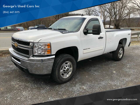 2011 Chevrolet Silverado 2500HD for sale at George's Used Cars Inc in Orbisonia PA