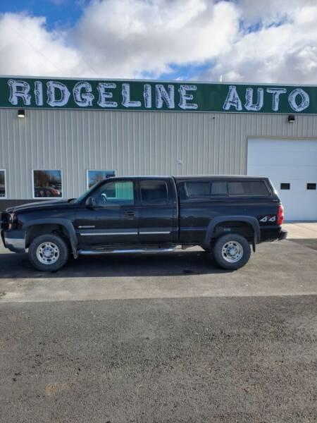 2006 Chevrolet Silverado 2500HD for sale at RIDGELINE AUTO in Chubbuck ID