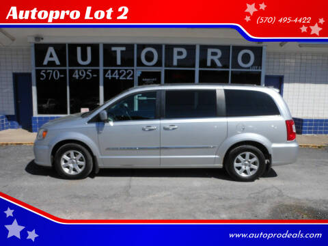2012 Chrysler Town and Country for sale at Autopro Lot 2 in Sunbury PA