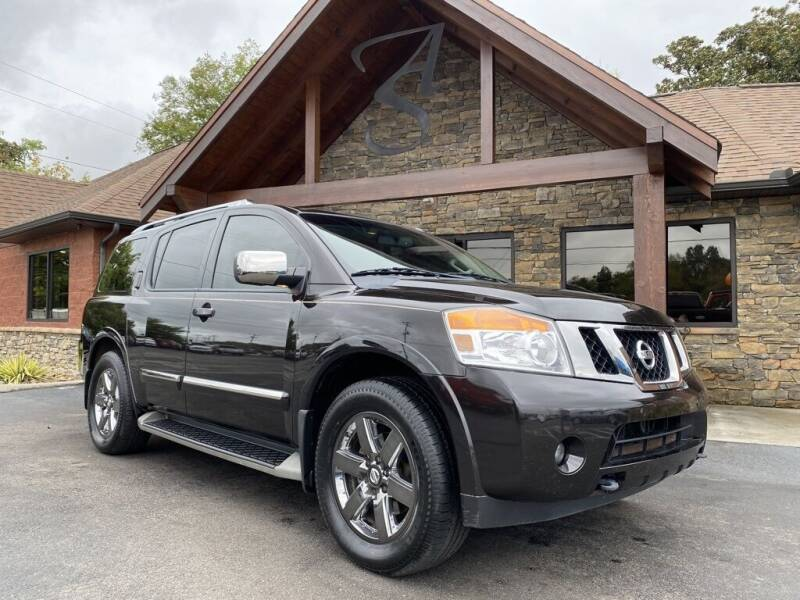 2013 Nissan Armada for sale at Auto Solutions in Maryville TN