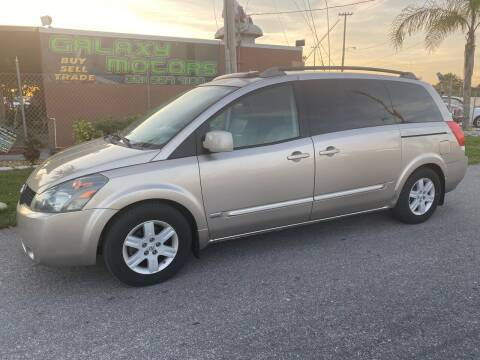 2006 Nissan Quest for sale at Galaxy Motors Inc in Melbourne FL
