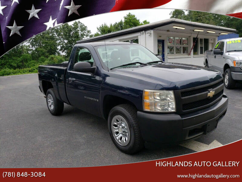 2007 Chevrolet Silverado 1500 Classic for sale at Highlands Auto Gallery in Braintree MA