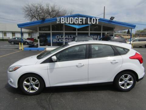 2012 Ford Focus for sale at THE BUDGET LOT in Detroit MI
