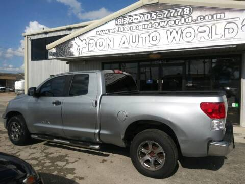 2010 Toyota Tundra for sale at Don Auto World in Houston TX