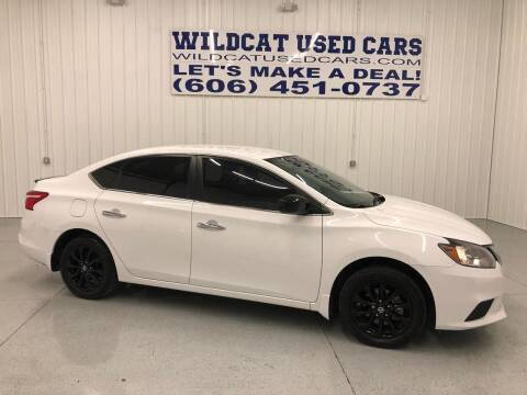2018 Nissan Sentra for sale at Wildcat Used Cars in Somerset KY