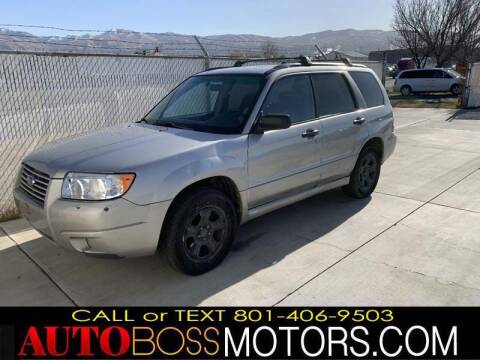 2007 Subaru Forester for sale at Auto Boss in Woodscross UT