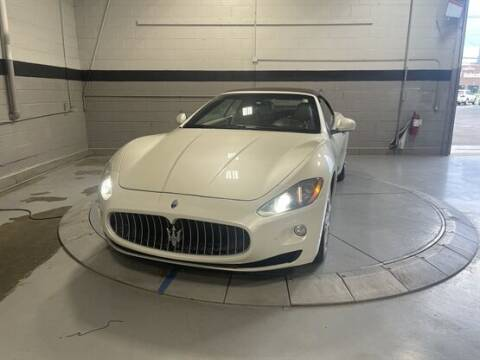 2012 Maserati GranTurismo for sale at Luxury Car Outlet in West Chicago IL
