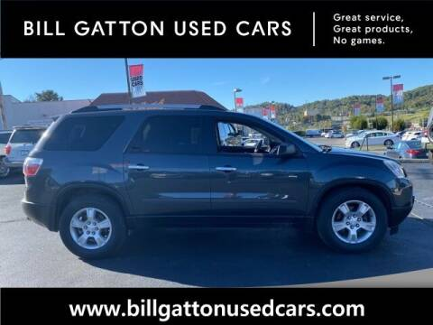 2012 GMC Acadia for sale at Bill Gatton Used Cars in Johnson City TN