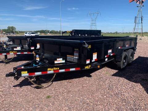 2022 Big Tex 14LP-16 Dump Box #0639 for sale at Prairie Wind Trailers, LLC in Harrisburg SD