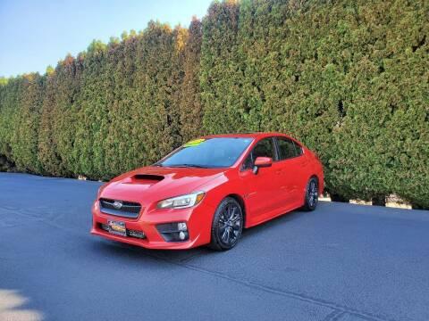 2015 Subaru WRX for sale at Yaktown Motors in Union Gap WA