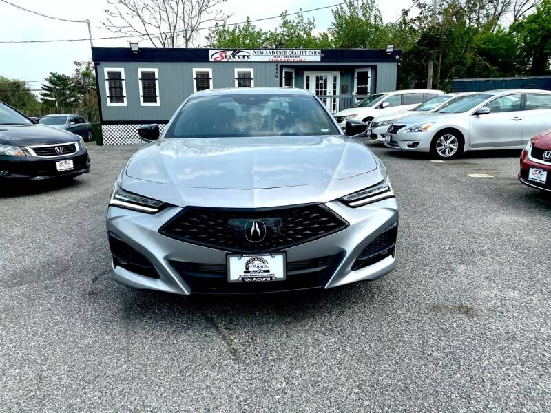 2021 Acura TLX for sale at H & H Motors 2 LLC in Baltimore MD