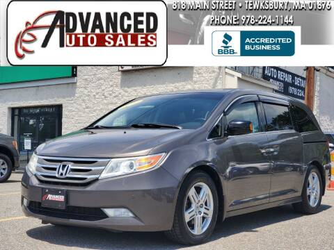 2012 Honda Odyssey for sale at Advanced Auto Sales in Dracut MA