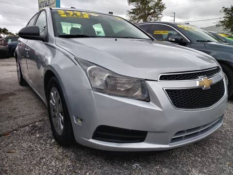 2011 Chevrolet Cruze for sale at AFFORDABLE AUTO SALES OF STUART in Stuart FL