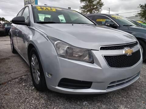 2011 Chevrolet Cruze for sale at AFFORDABLE AUTO SALES OF STUART in Stuart FL