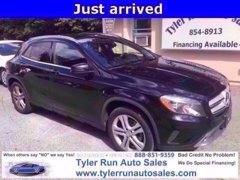 2016 Mercedes-Benz GLA for sale at Tyler Run Auto Sales in York PA