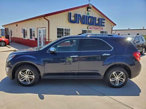 "2017 Chevrolet Equinox for sale at UNIQUE AUTOMOTIVE ""BE UNIQUE"" in Garden City KS"