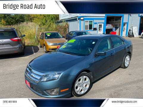 2011 Ford Fusion for sale at Bridge Road Auto in Salisbury MA