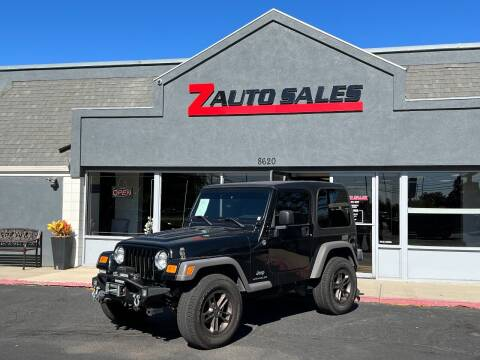 2005 Jeep Wrangler for sale at Z Auto Sales in Boise ID