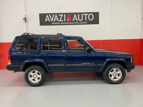 2000 Jeep Cherokee for sale at AVAZI AUTO GROUP LLC in Gaithersburg MD