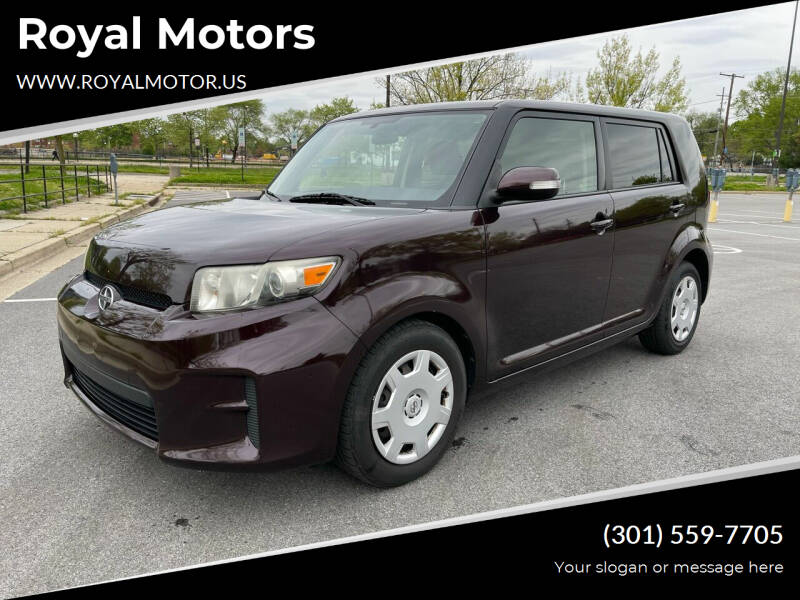 2012 Scion xB for sale at Royal Motors in Hyattsville MD