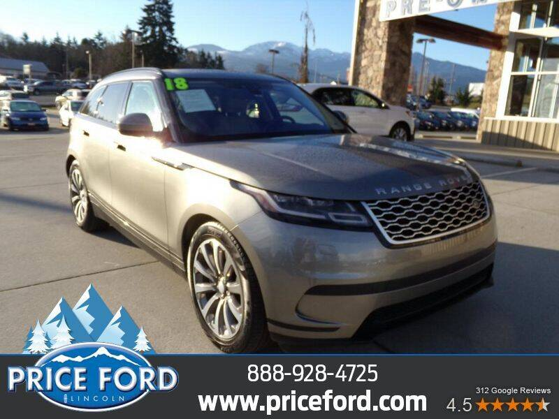 2018 Land Rover Range Rover Velar for sale at Price Ford Lincoln in Port Angeles WA