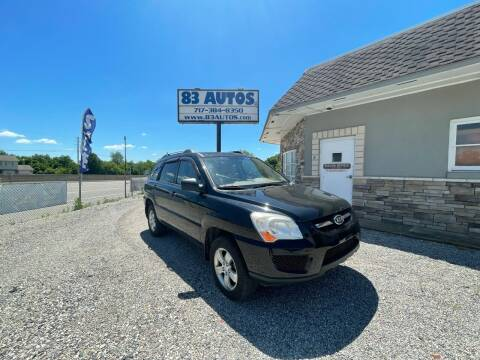 2009 Kia Sportage for sale at 83 Autos in York PA