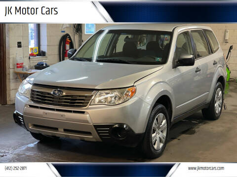 2009 Subaru Forester for sale at JK Motor Cars in Pittsburgh PA