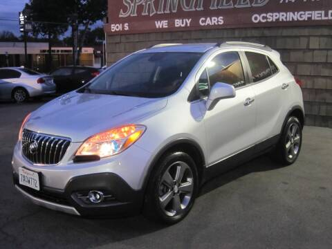 2013 Buick Encore for sale at SPRINGFIELD BROTHERS LLC in Fullerton CA