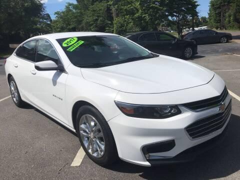 2017 Chevrolet Malibu for sale at Scotty's Auto Sales, Inc. in Elkin NC